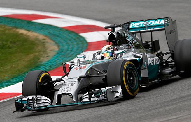 Un doublé pour Mercedes lors du Grand-Prix d'Autriche