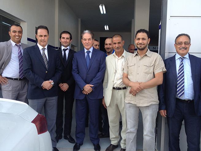 Inauguration du nouveau concept Peugeot Rapide à Denden