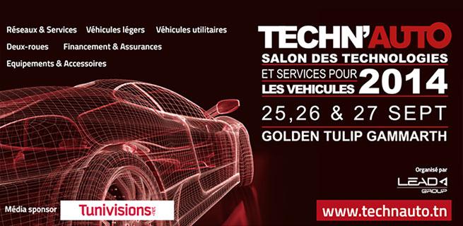 Salon Techn'auto du 26 au 28 aout