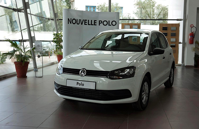 Nouvelle Polo chez Ennakl Automobiles