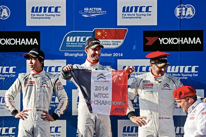 Citroën Champion du Monde WTCC !