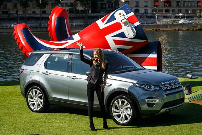 L'arrivée du Nouveau Discovery Sport dans un style très ''British''