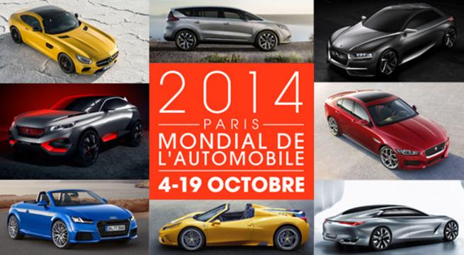 Les nouveautés du Mondial de l'automobile 2014
