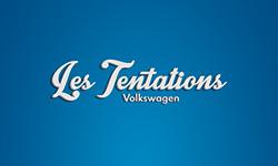 Les  Tentations Volkswagen s'habillent en bleu