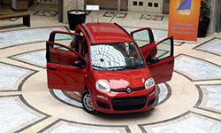 La nouvelle FIAT Panda présentée à l'université SESAME