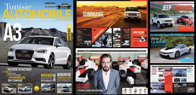 Naissance d'un magazine: Tunisie Automobile