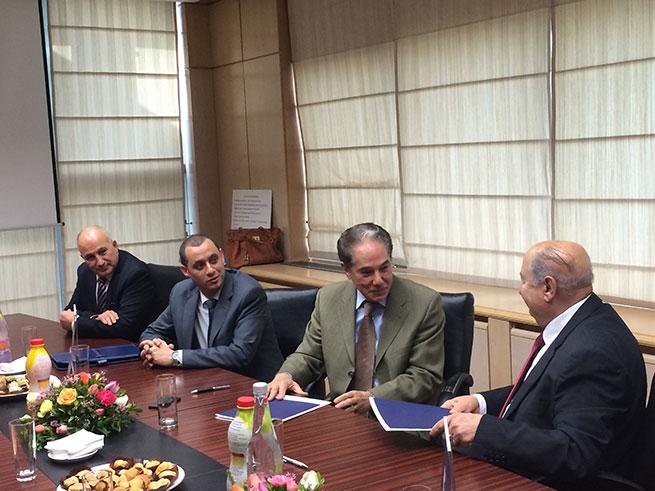 Convention de Partenariat entre la STAFIM Centre D'Etudes et de Formation et l'Université Libre de Tunis.