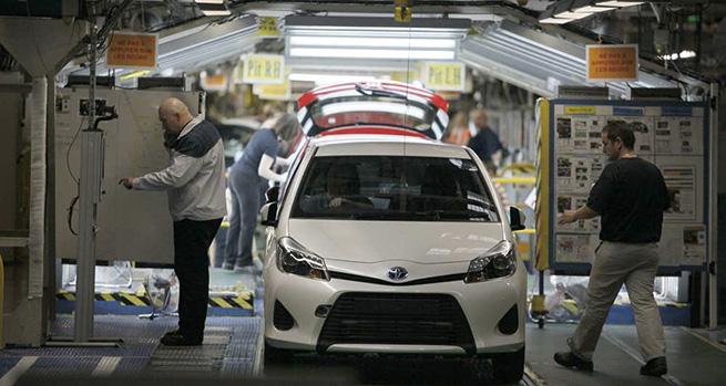 Toyota leader du marché mondial en 2014