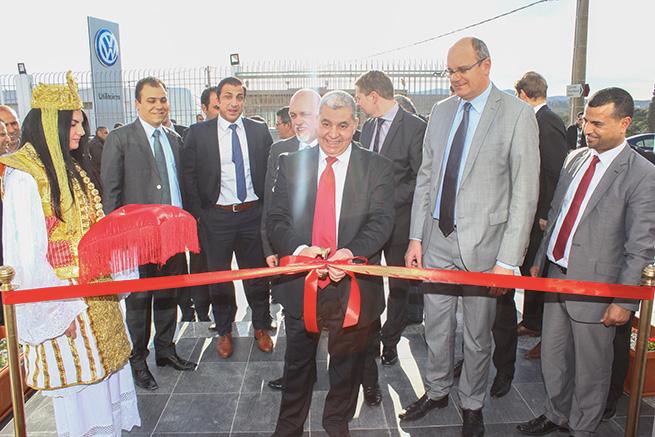 Nouveau  showroom Volkswagen Utilitaires à Nabeul
