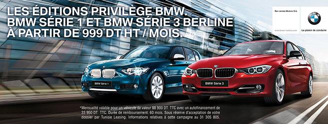 Les Editions Privilège BMW !