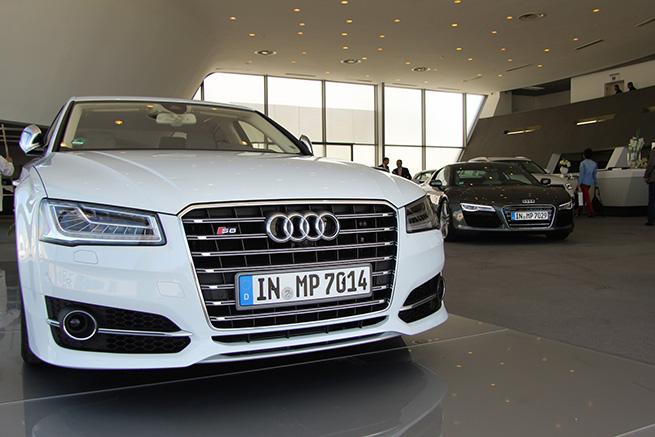 Première édition de l'Audi Motor Show