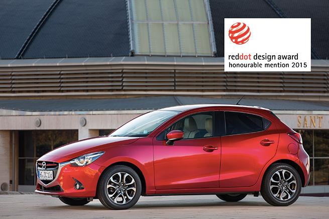 Trois nouveaux modèles Mazda décrochent le Red Dot 2015