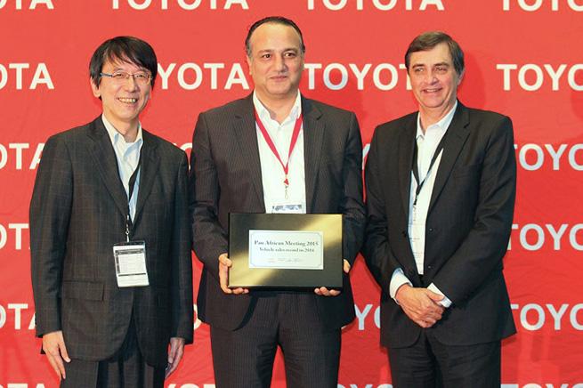 BSB Toyota remporte une grande distinction régionale