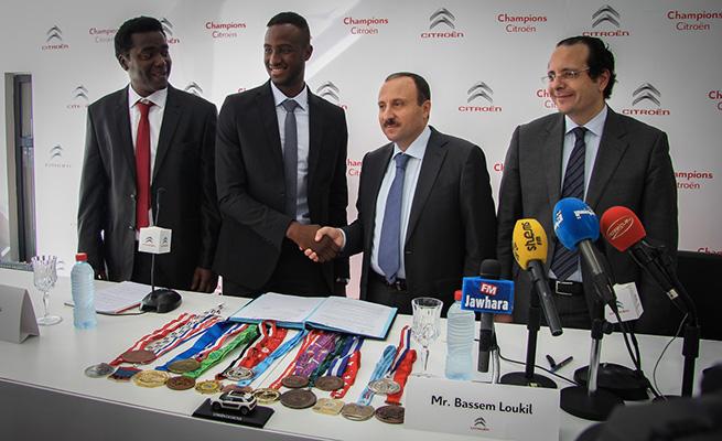 Yassine Trabelsi rejoint le Team Champions Citroën
