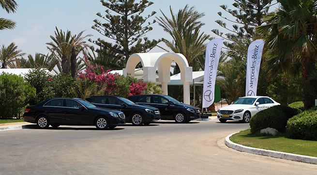 Les essais Mercedes-Benz à Djerba