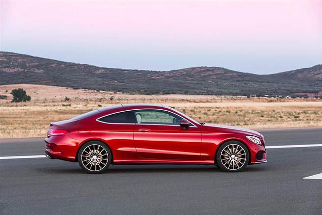Mercedes-Benz dévoile la nouvelle Classe C Coupé