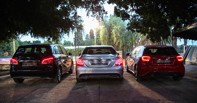 Mercedes-Benz au tennis Club de Carthage