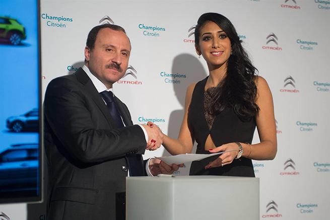 Citroën Tunisie Partenaire officiel d'Ines Boubakri