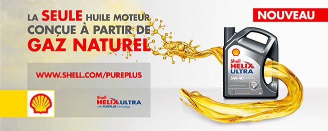Shell lance la première huile moteur à base de gaz naturel