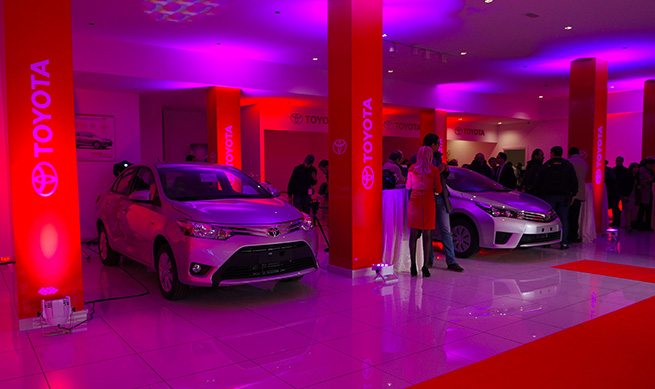 BSB Toyota inaugure une nouvelle agence à Tunis