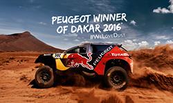 Peugeot Vainqueur du Dakar 2016
