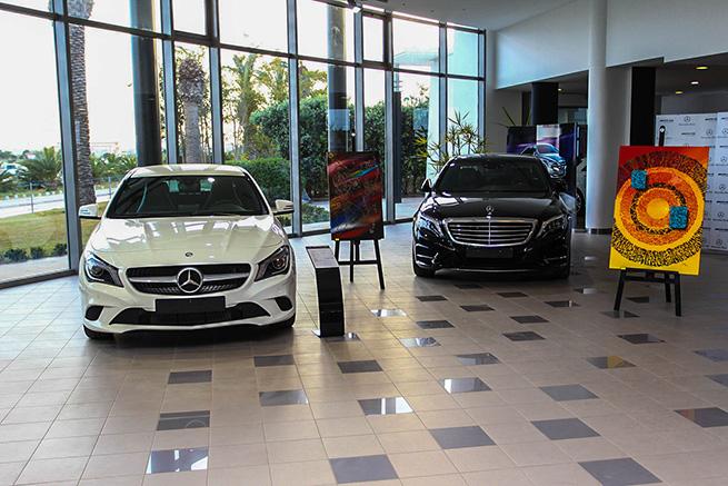 Mercedes-Benz Tunisie s'associe à l'art