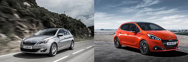 Les Peugeot 208 et 308 remportent le prix Best Cars
