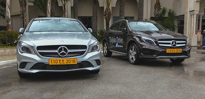 Les essais Mercedes-Benz au Russelior