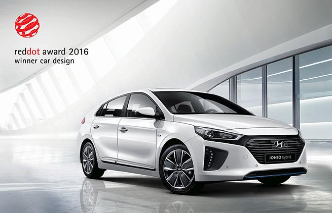 La Hyundai IONIQ remporte le prix Red Dot Design