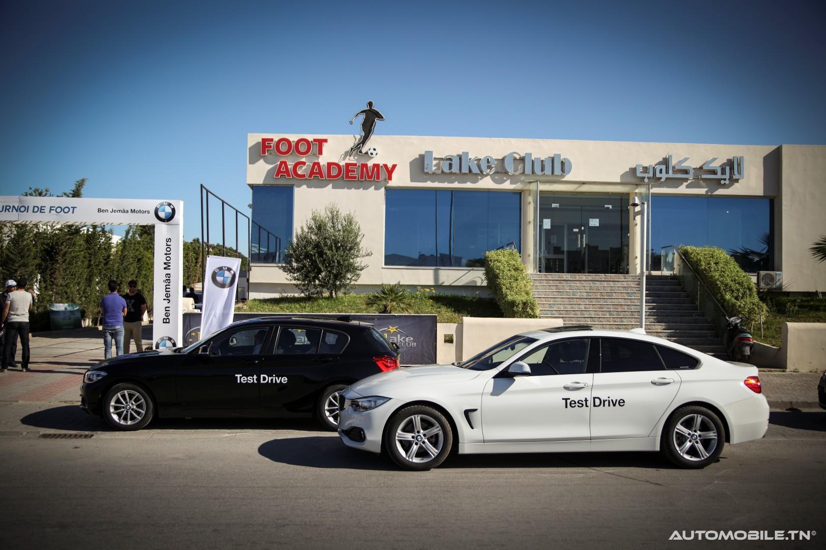 BMW Tunisie sponsor du tournoi de foot des enfants