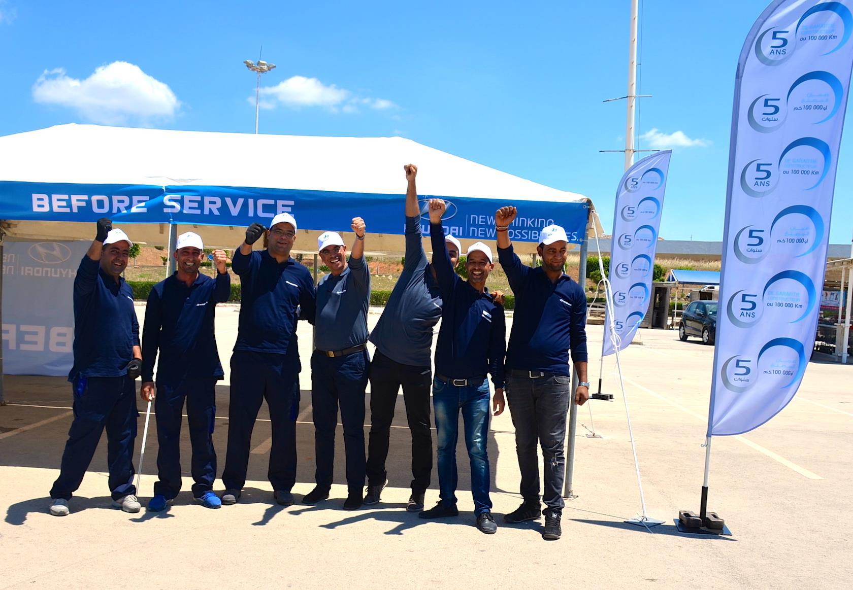 L'Espace Hyundai Service à Tunis City Géant