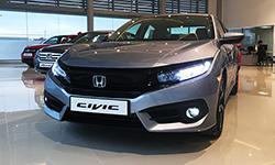 Nouvelle Honda Civic RS