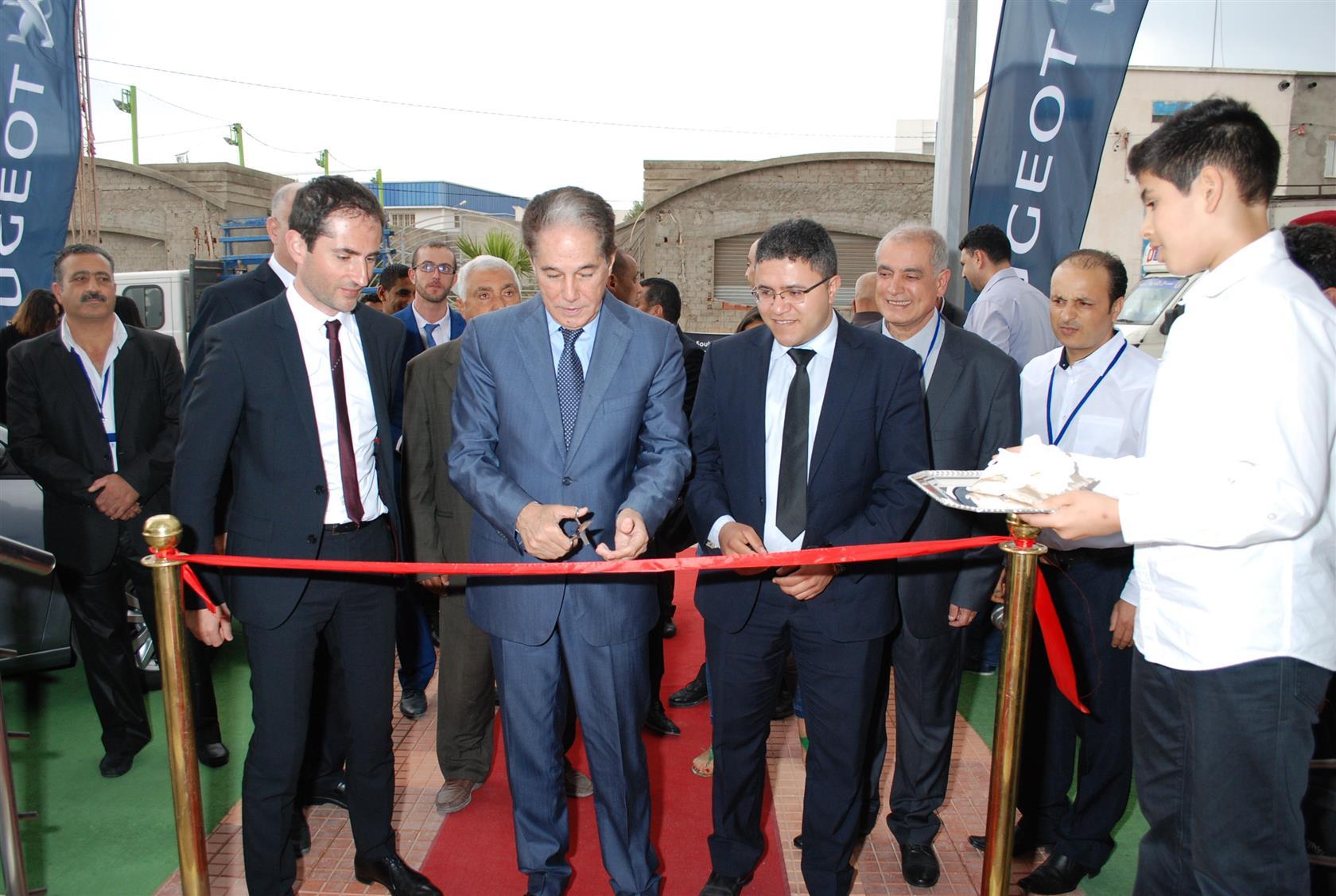 Ouverture d'une nouvelle agence Peugeot à Ksar Hellal