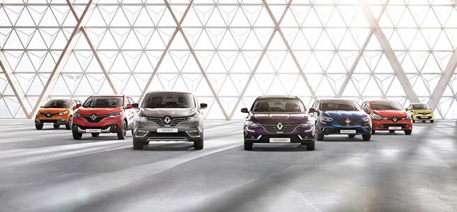 Renault en tête des ventes des véhicules particuliers en Avril