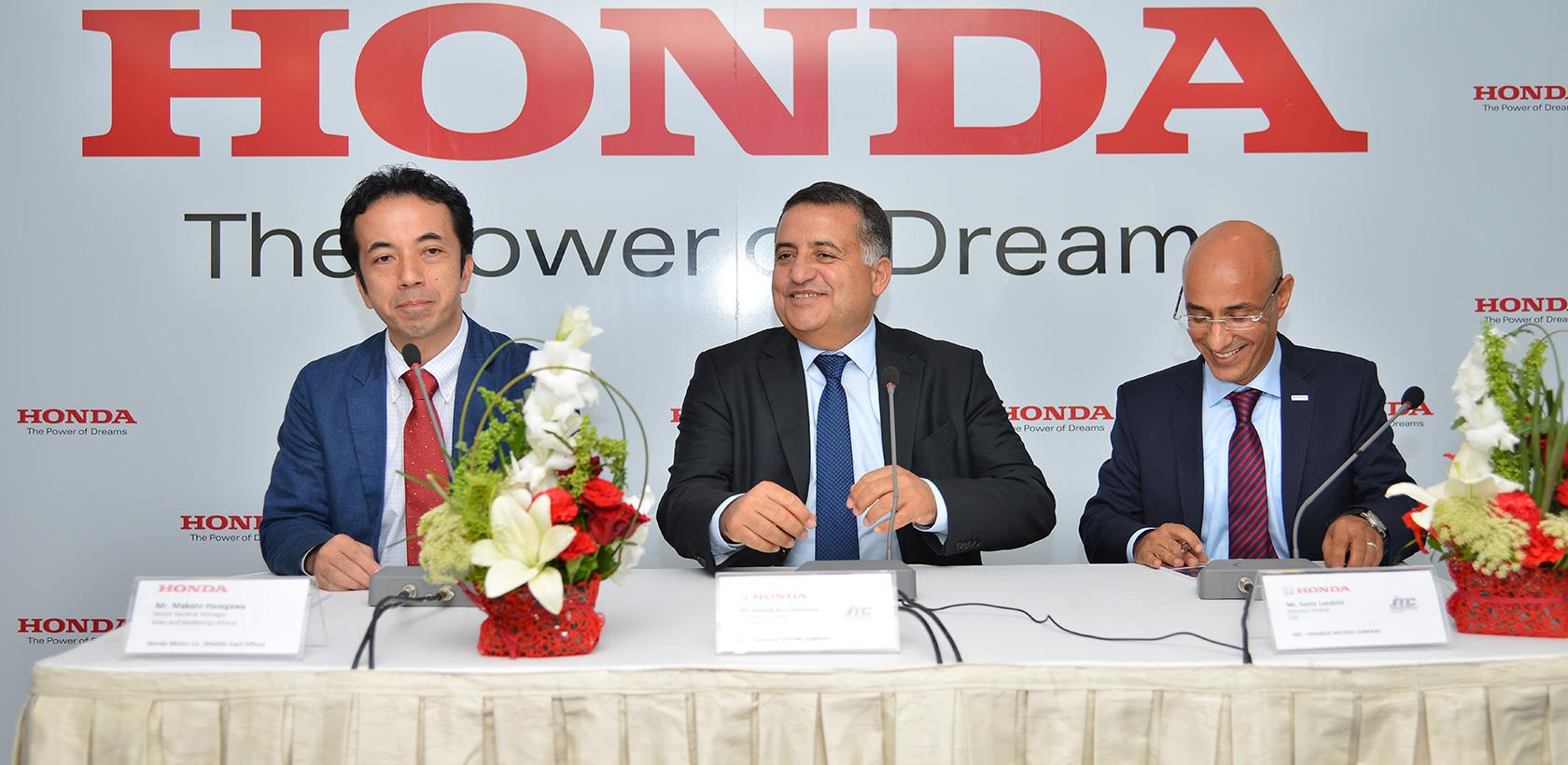 Honda inaugure son premier showroom en Tunisie