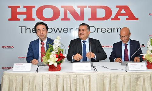 Honda inaugure son premier showroom en Tunisie
