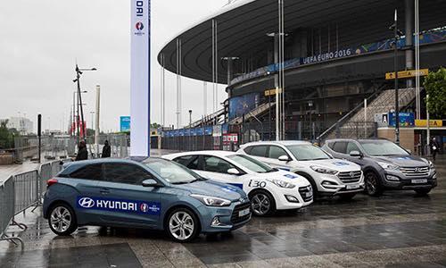 Hyundai Partage la Passion du Football avec les Fans de l'EURO 2016