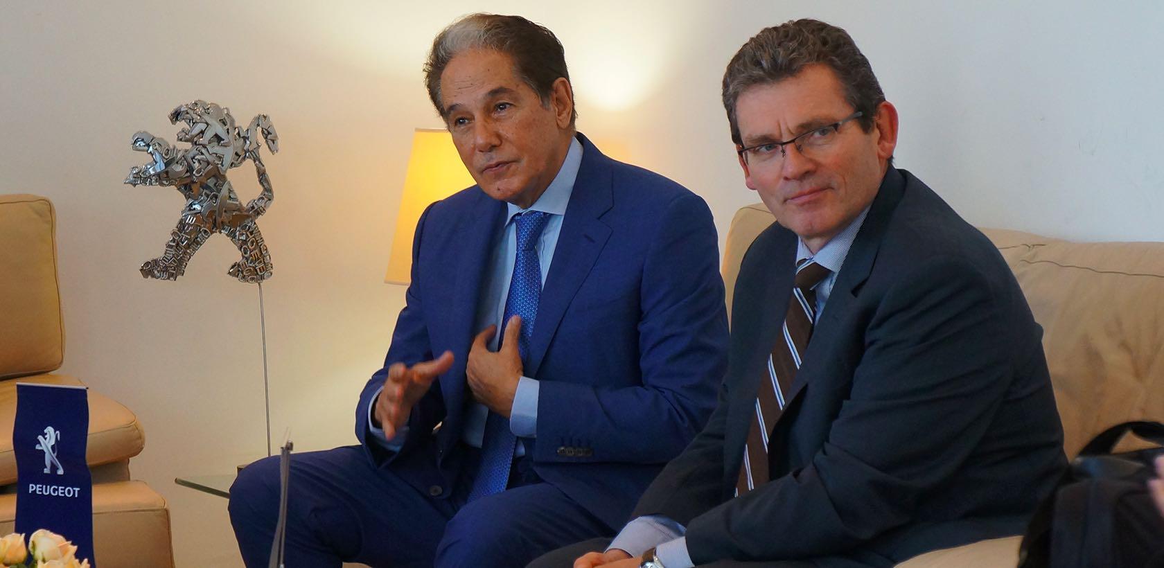Jean-Christophe Quémard en visite chez STAFIM
