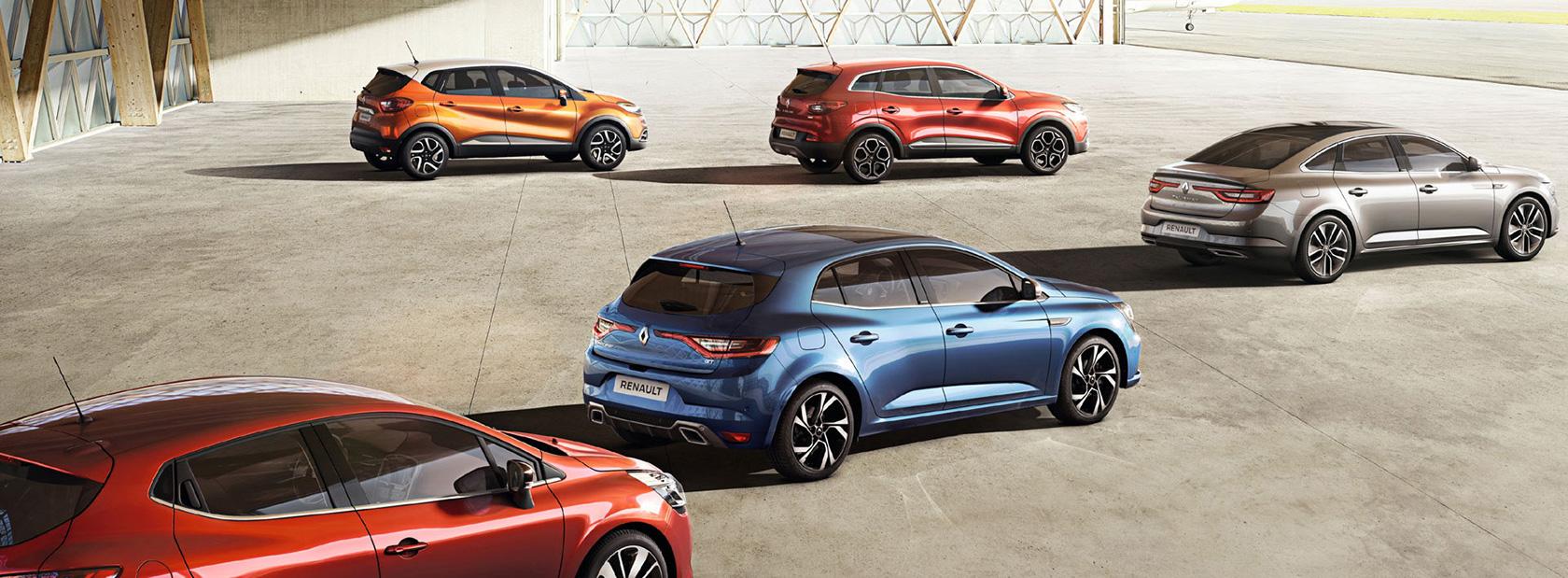 Renault en tête des ventes de véhicules particuliers en Mai 2016