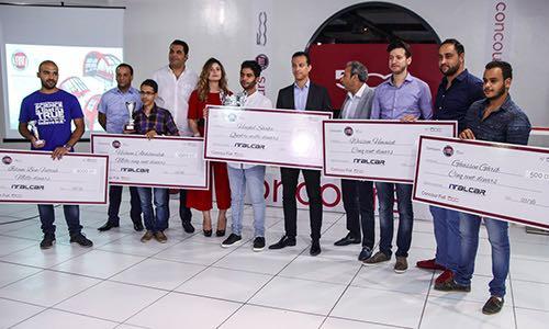 Cérémonie de remise des prix du concours FIAT 500 chez ITALCAR