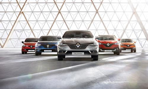Renault leader du marché des VP pour le premier semestre 2016