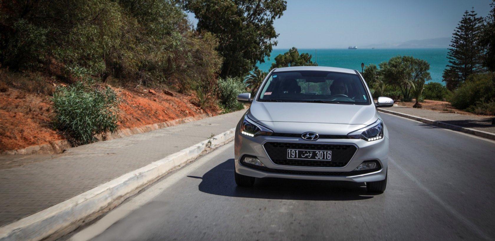 Essai de la nouvelle Hyundai i20 en Tunisie