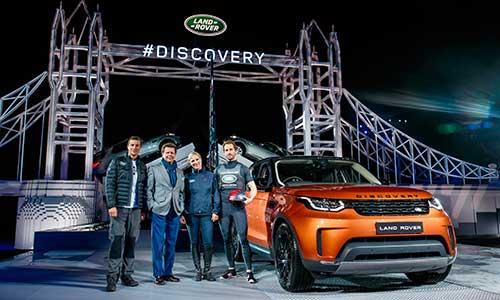 Land Rover dévoile le nouveau Discovery
