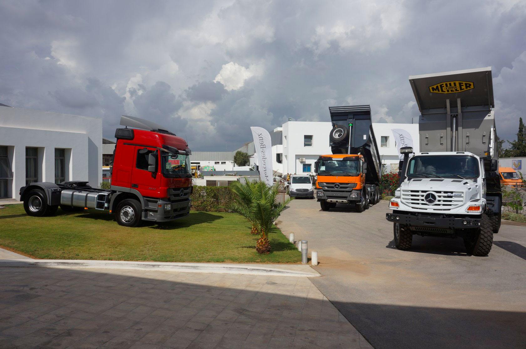 Le Moteur présente son camion tout terrain Zetros