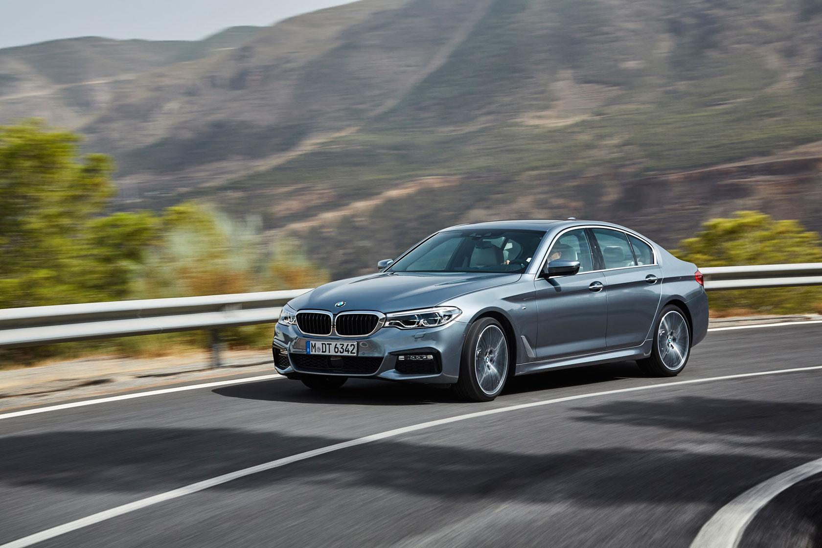 BMW dévoile la nouvelle Série 5