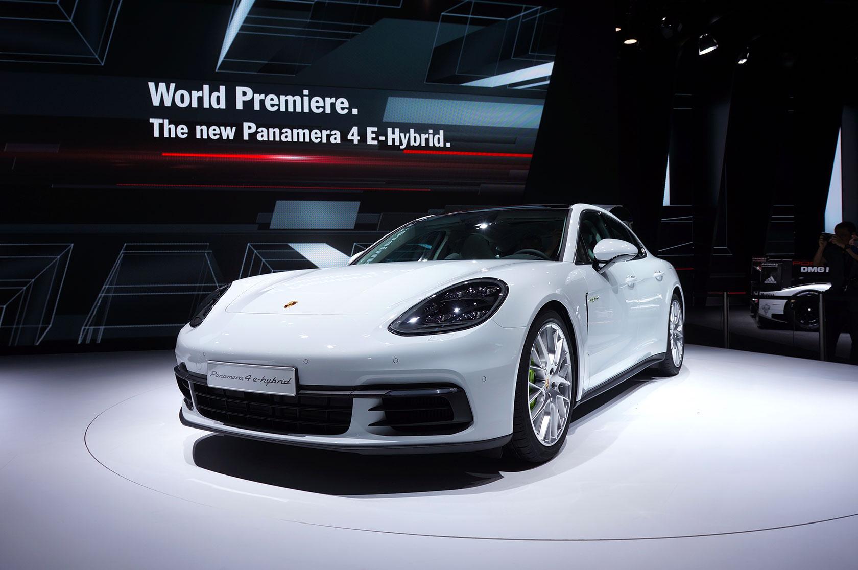 Nouvelle Porsche Panamera Hybride