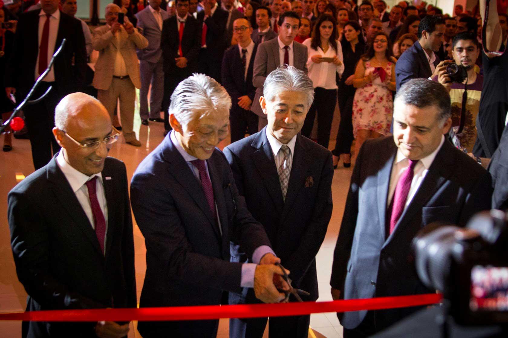 Soirée d'inauguration du premier showroom Honda en Tunisie