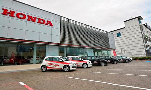 HONDA mise sur les sociétés de location de voitures