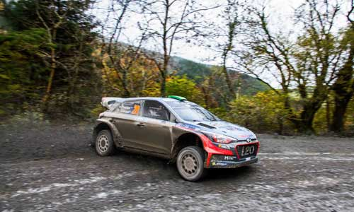 Hyundai Motorsport occupe la position de dauphin au Rally WRC du Pays de Galles