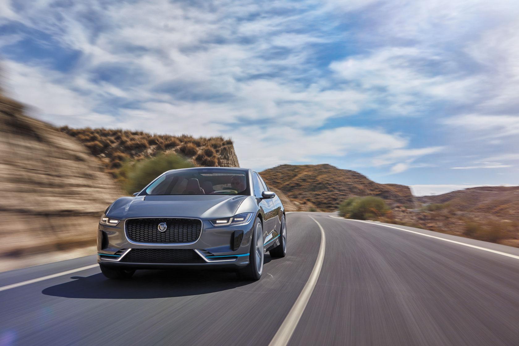 Jaguar présente le I-PACE, un SUV 100% éléctrique